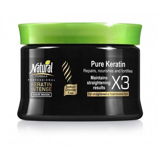 Set Natural Formula Keratin Intense