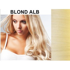 Extensii Clip-On Diamond Blond Alb