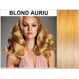 Extensii Tape IN Diamond Blond Auriu