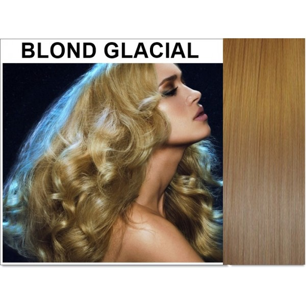 Set Easy Clip-On DeLuxe Blond Glacial