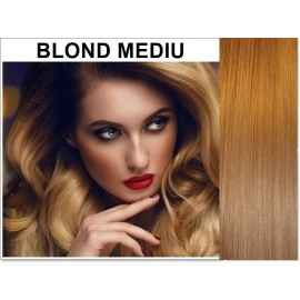 Extensii Clip-On Diamond Blond Mediu