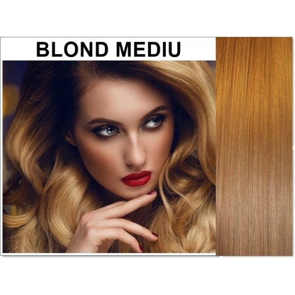 Extensii Clip-On Xtreme Blond Mediu