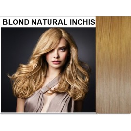Extensii Clip-On Diamond Blond Natural Inchis
