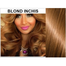Extensii Clip-On Diamond Blond Inchis