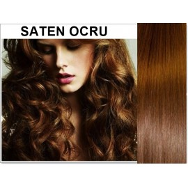 Extensii Clip-On Diamond Saten Ocru
