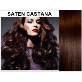 Mese Clip-On Saten Castana