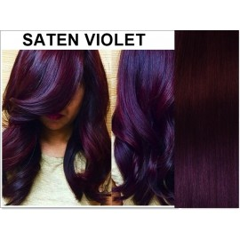 Cozi de Par Diamond Saten Violet