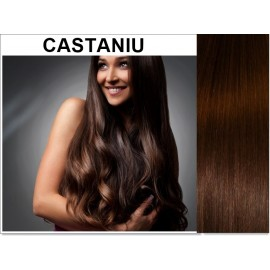 Easy Clip-On Castaniu