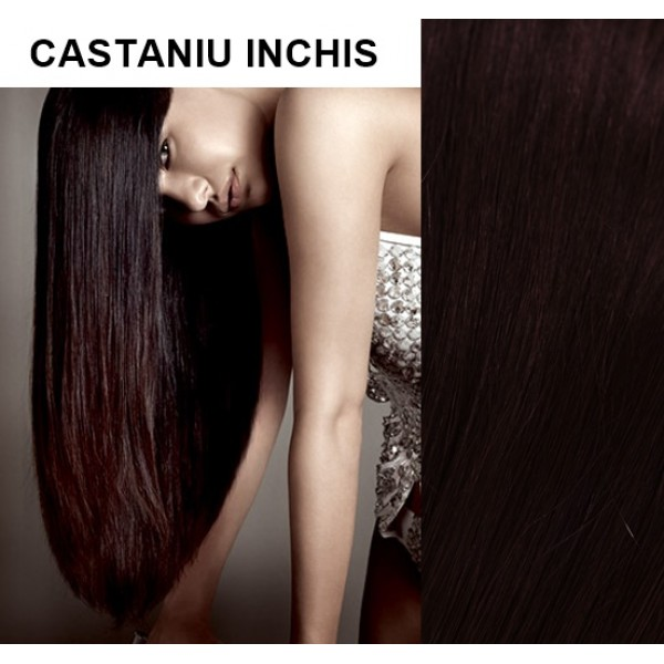 Extensii Clip-On Xtreme Castaniu Inchis