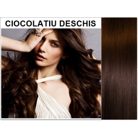 Extensii Clip-On Diamond Ciocolatiu Deschis