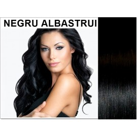 Easy Clip-On Negru Albastrui