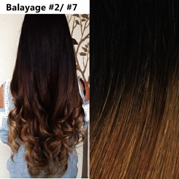 Extensii Clip-On Cret Balayage #2 / #7