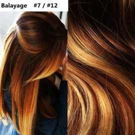Extensii Clip-On Diamond Balayage #7 / #12