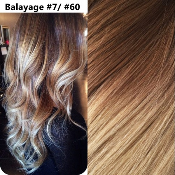 Extensii Clip-On Xtreme Balayage #7 / #60