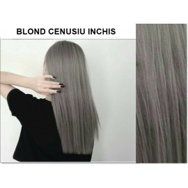 Extensii tape in diamond  Blond Cenusiu Inchis