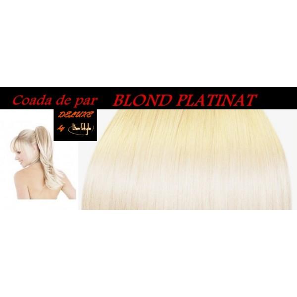 Cozi de Par DeLuxe Blond Platina