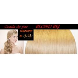 Cozi de Par DeLuxe Blond Bej
