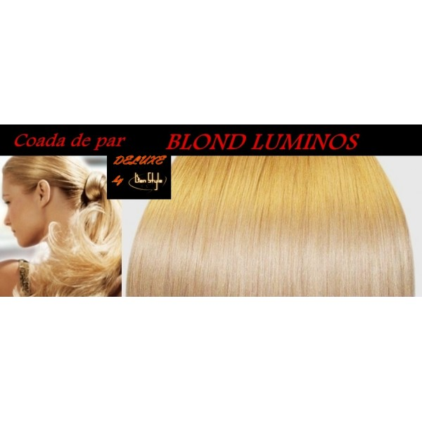Cozi de Par DeLuxe Blond Luminos