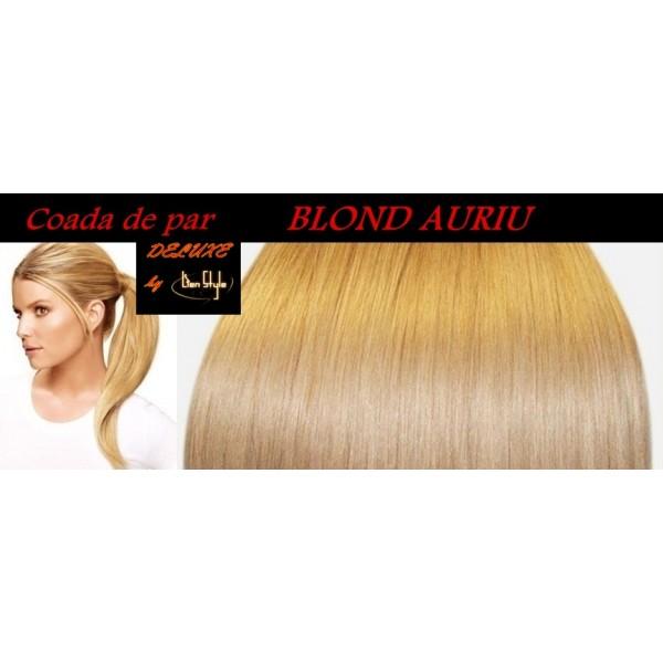 Cozi de Par DeLuxe Blond Auriu