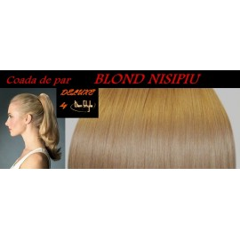 Cozi de Par DeLuxe Blond Nisipiu