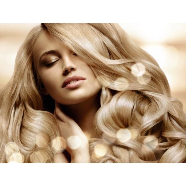 Trese de Par Drept DeLuxe Blond Luminos