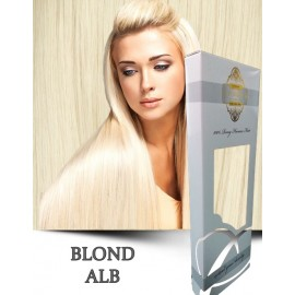 White Platinum Blond Alb