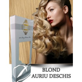 White Platinum Blond Auriu Deschs