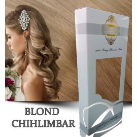 White Platinum Blond Chihlimbar