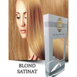 White Platinum Blond Satinat