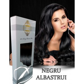 White Platinum Negru Albastrui
