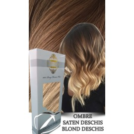 White Platinum Ombre Saten Deschis Blond Deschis