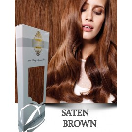 White Platinum Saten Brown