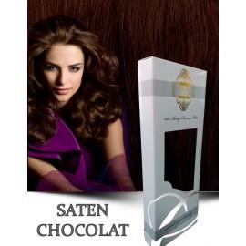 White Platinum Saten Chocolat